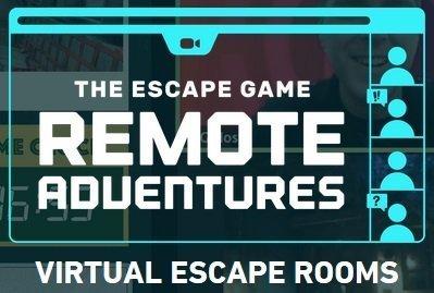 Virtual escape room remote adventures the escape game.